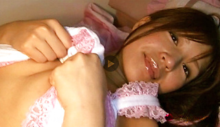 Hinata Aoi Amazing Japanese babe shows sexy mouth