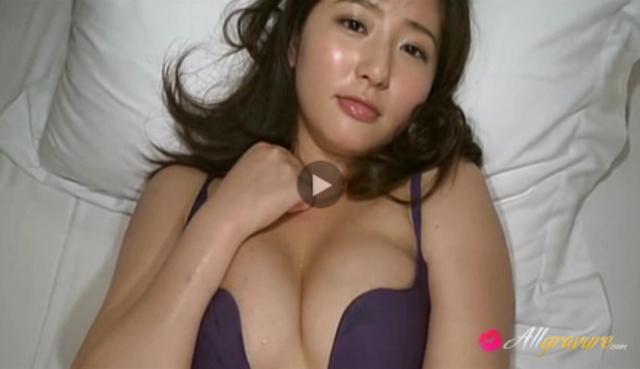 Yuri Murakami Asian model in barely there lingerie